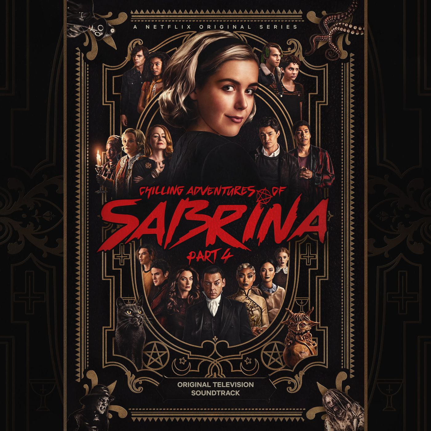 Cast of Chilling Adventures of Sabrina, Jaz Sinclair, Jonathan Whitesell, Lachlan Watson, Ross Lynch - Time Warp (feat. Ross Lynch, Jaz Sinclair, Lachlan Watson & Jonathan Whitesell)